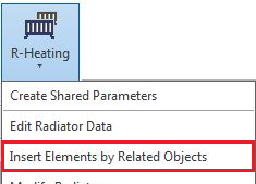 Insert Elements by Related Objects