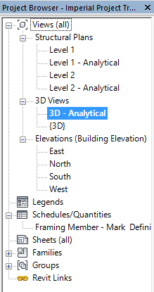3D - Analytical