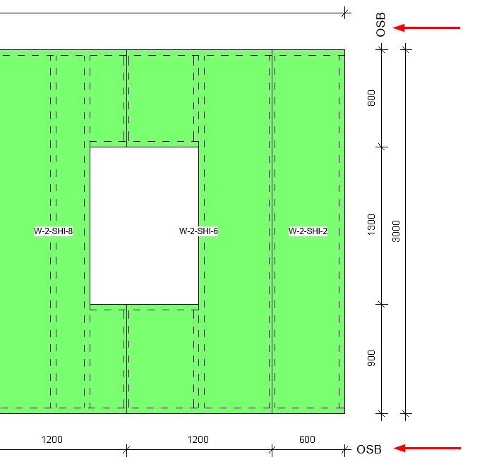Material used as a text note parameter using AGACAD's Wood/Metal Framing BIM design tools for Autodesk Revit