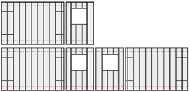 Adding a modified wall frame back into group in Revit