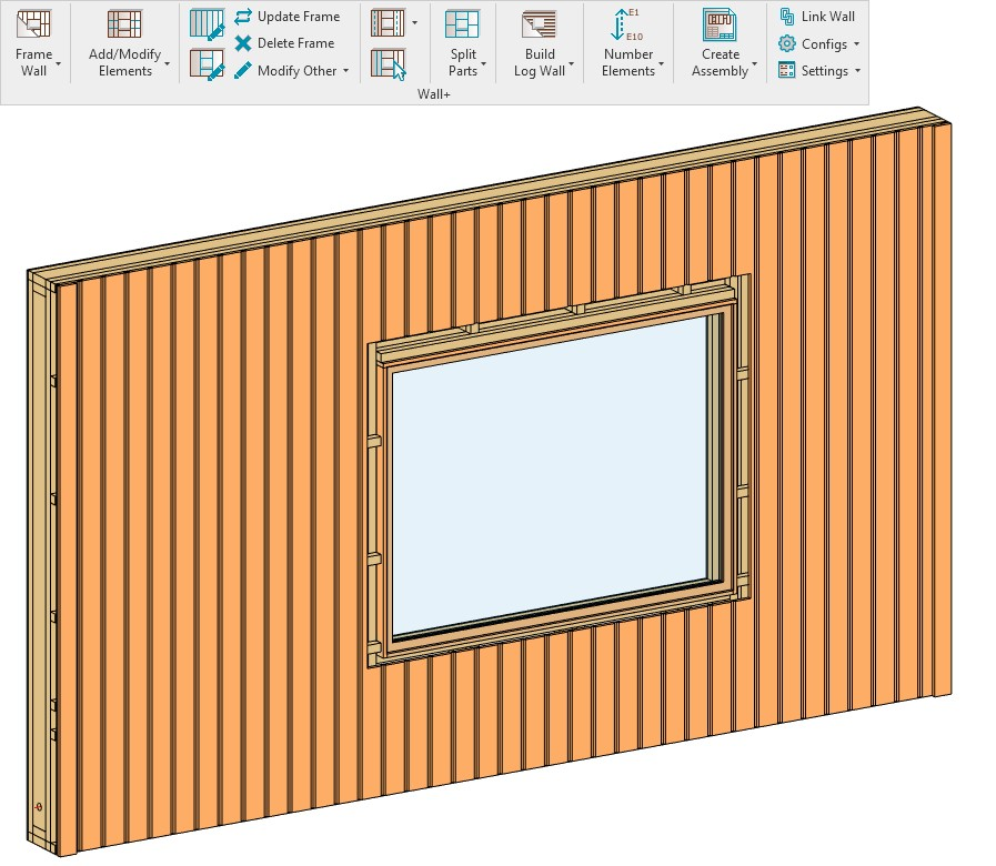Siding Boards cut by additional Void in Revit