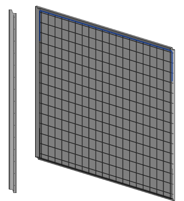 Single mesh wall reinforcement in Revit