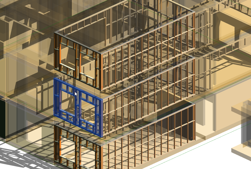 Creating assemblies for individual elements in Revit