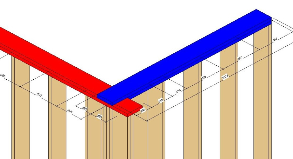 Control Top Plates Framing in Connections in Revit with AGACAD Framing Tools