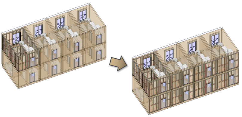 Framing model groups in Revit with AGACAD Framing Tools