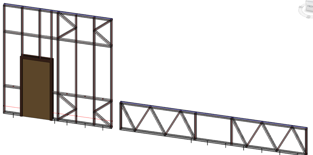 Partial Brace Groups in Revit with AGACAD's Framing Tools