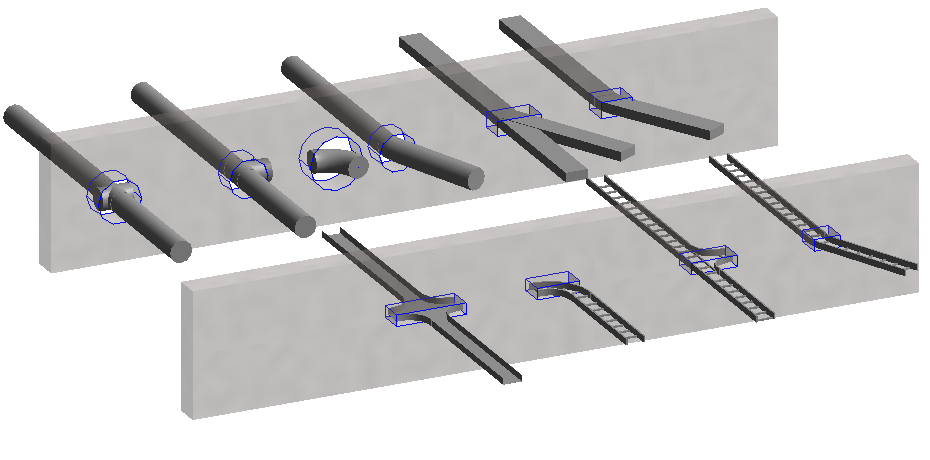 Different-category-fittings-in-Revit