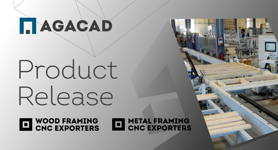 CNC Exporters for Wood/Metal Framing Compatible with Revit 2022. PLUS New Exporters for EasyFrame & Pinnacle