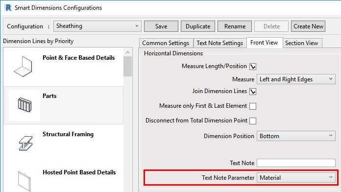 Use Material as a Text Note parameter in Revit
